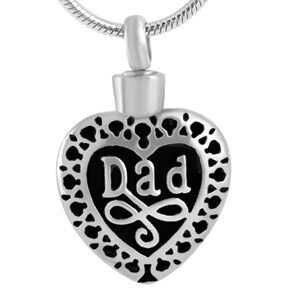 Filigree Heart - Dad