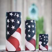 US Flag Scattering Tube